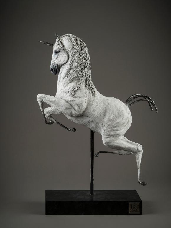 Licorne, par Andrée Marcoux
